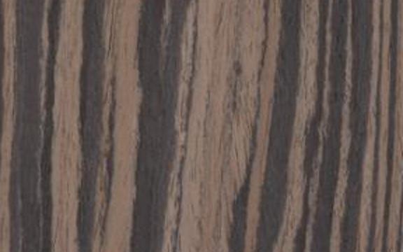 Immagine texture legno naturale Ebano makassar rigato