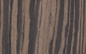 Picture of Ebony Makassar Striped K64 wood finish