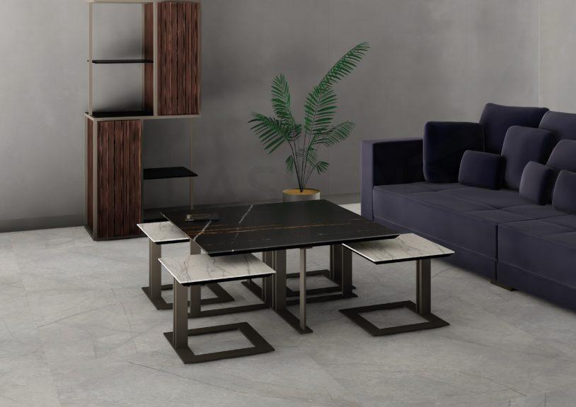 Classuno Small Table Tavolino Set Eveline SETEVE 001 Website2020